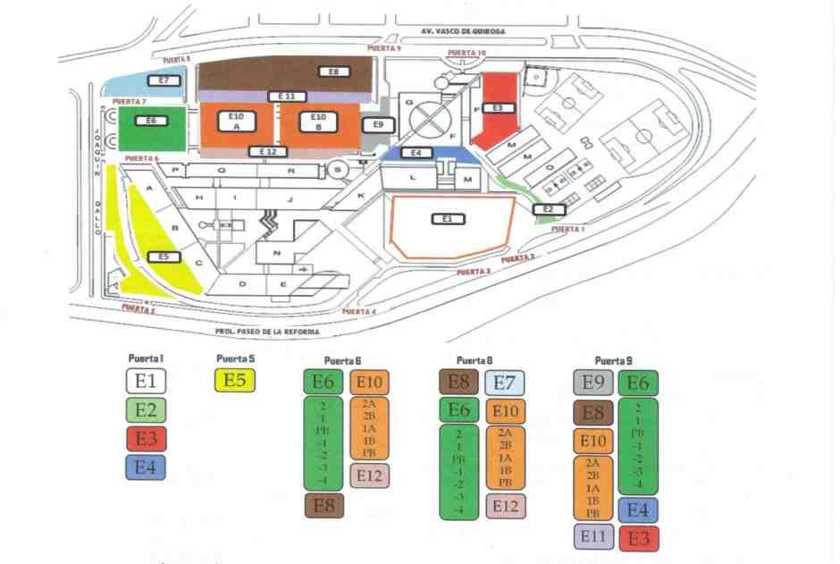 Mapa Estacionamiento