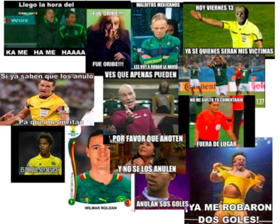 MemesCamerún-Mexico