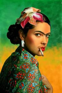 La imagen de Frida Kahlo